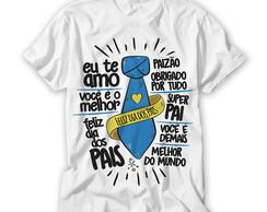 Camiseta Dia Dos Pais Elo7
