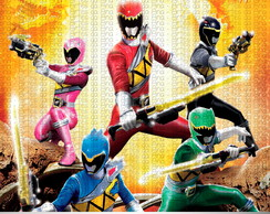 Convite Power Rangers Dino Charge