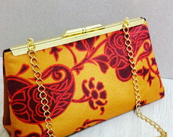 de9a29007 Bolsa Clutch Estampada Abstrato Colorido no Elo7 | Eleganza Design ...