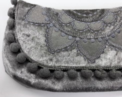 Clutch com Mandala Bordada LH6