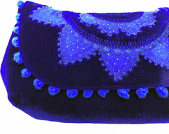 Clutch com Mandala Bordada LH7