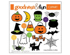 Digital Scrapbook Halloween Cuties