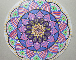 Quadro Mandala Mini Colorida No Elo7 Mandarilys 658aae