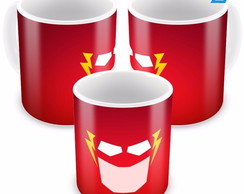 Caneca Seriado Flash Cartoon Minimalista