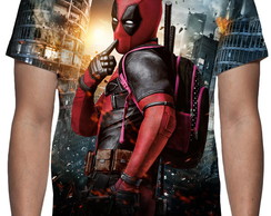 Camiseta Deadpool Mod 03 - Estampa Total