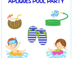 Apliques Pool Party