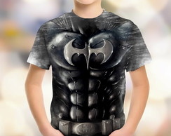 Camiseta Infantil Batman Body Personalizad Batman DC 01 HD