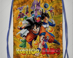 Mochila dragon ball 22x30