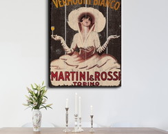 Quadro Decorativo GRANDE Martini