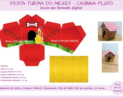 Festa Turma do Mickey - Casinha Pluto