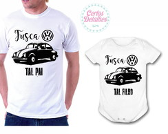 Camiseta e Body - Fusca