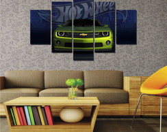 Quadro Mosaico Decorativo Hot Wells Chevrolet