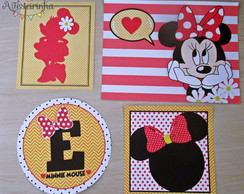 Kit de quadrinhos minnie