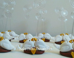 lembrancinhas casamento biscuit