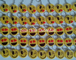 chaveiro emoticons biscuit