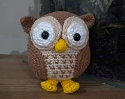 Coruja de amigurumi (parte 1) owl crochet - YouTube | 194x244