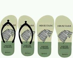Chinelo Game of Thrones Stark