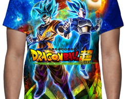 Camiseta - Dragon Ball Super Broly Mod 02 - Estampa Total