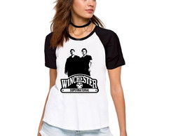 Camiseta Supernatural Sobrenatural Brothers Manga Curta