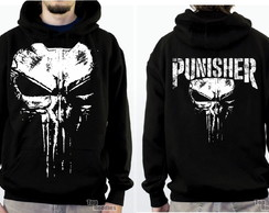 Moletom Masculino Justiceiro, Punisher, Caveira, Skull, Rock