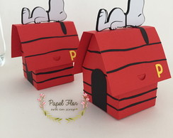 Caixa design Casinha Snoopy scrap