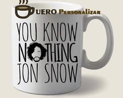 Caneca You Know Nothing Jon Snow