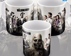 Caneca The Walking Dead Personagens Seriado Série