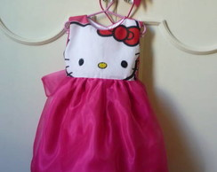 Vestido Hello Kitty organza