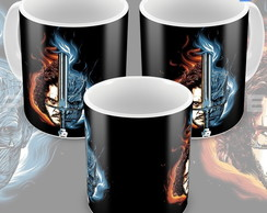 Caneca Game Of Thrones Jon Snow E Rei Da Noite White Walker