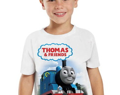 Camiseta Infantil Thomas & Friends