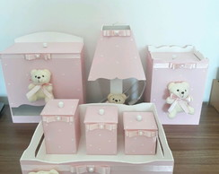 Kit higiene urso princesa