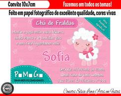 Convite Cha De Fraldas Pampers Elo7