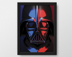 Darth Vader - Quadro decorativo Geek