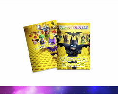 Revista Colorir Personalizado Batman Lego