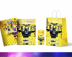 Kit Colorir Personalizado Batman Lego
