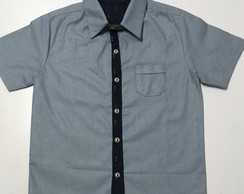 Camisa jeans leve , chambray