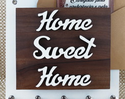 PORTA CHAVES/CARTAS HOME SWEET HOME