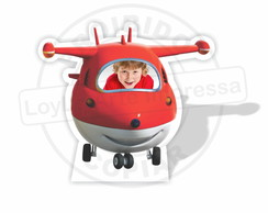 Display para tirar foto Super Wings