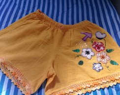 Short bordado adulto G ( 48 )