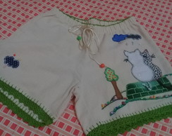 Short adulto bordado PP ( 9 )
