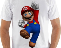 Camiseta Camisa Super Mario World up 2018