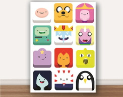 Quadro Adventure Time