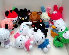 Hello kitty | Bonecas de crochê, Amigurumi graficos, Bonecas | 194x244