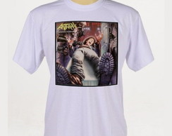 Camiseta Rock - Anthrax - Metallica