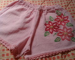 Short adulto bordado M ( 23 )