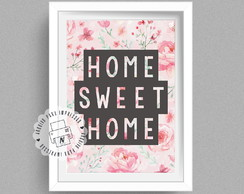 Poster Digital A5 - Home Sweet Home