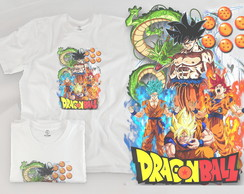 Camisa infantil Dragon Ball 01