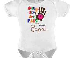 Body Bori Bebê Personalizado Primeiro Dia Dos Pais Paizão No Elo7