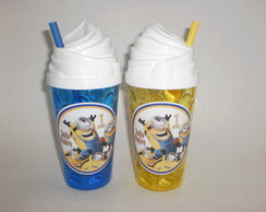Copo Chantilly de 500ml - Minions