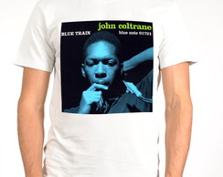 Camiseta Blues - Jazz - John Coltrane
